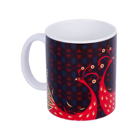 Classic Peacock Coffee Mug