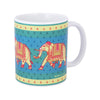 Elephant Repeat Coffee Mug
