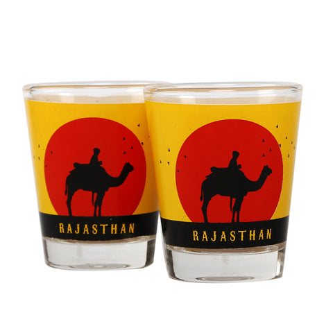 Rajasthan Shot Glasses -Set of 2