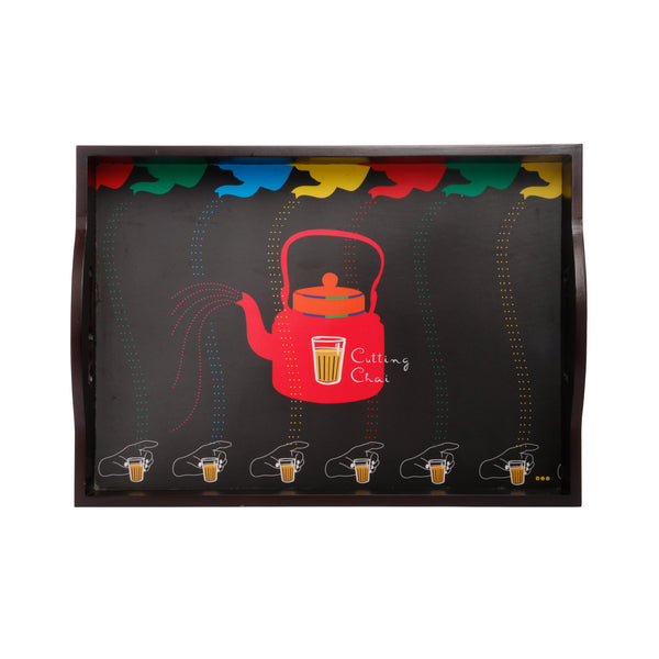 Cutting Chai Serving Tray