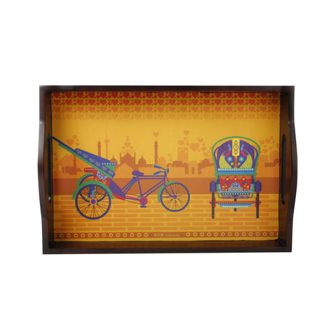 Delhi Cycle Rickshaw Tray Small