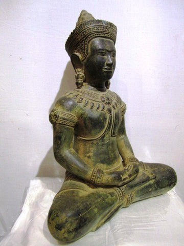 Khmer Style Buddha Bronze BR1001 - Cambodia Arts and Crafts