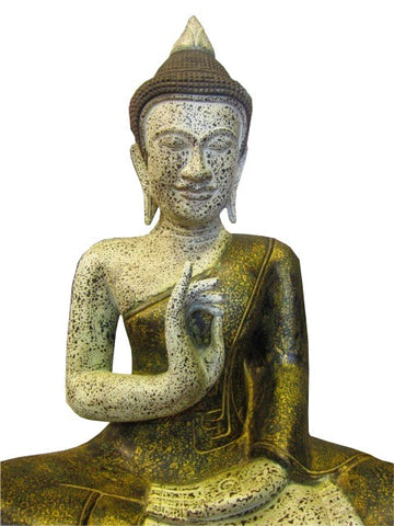 Teaching Wooden Buddha 50cm - Cambodia Arts and Crafts