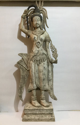 Apsara, Khmer Apsara Girl, Apsara Dancing 96cm - Cambodia Arts and Crafts