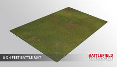 Grasslands gaming mat 6x4 feet