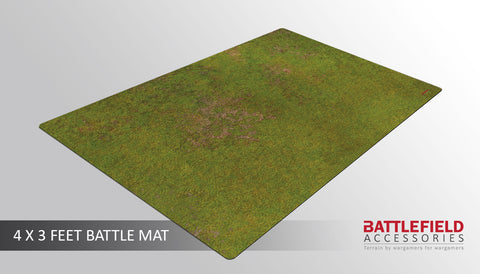 Grasslands 4x3 Battle Mat