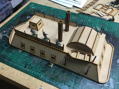 28mm City Class Iron Clad Gun Boat