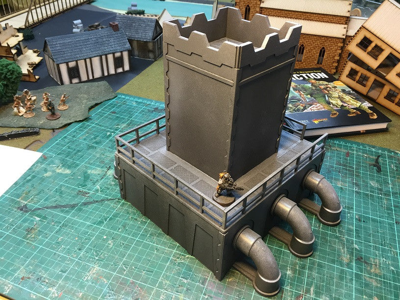 Sci-Fi Pumping Station 28mm