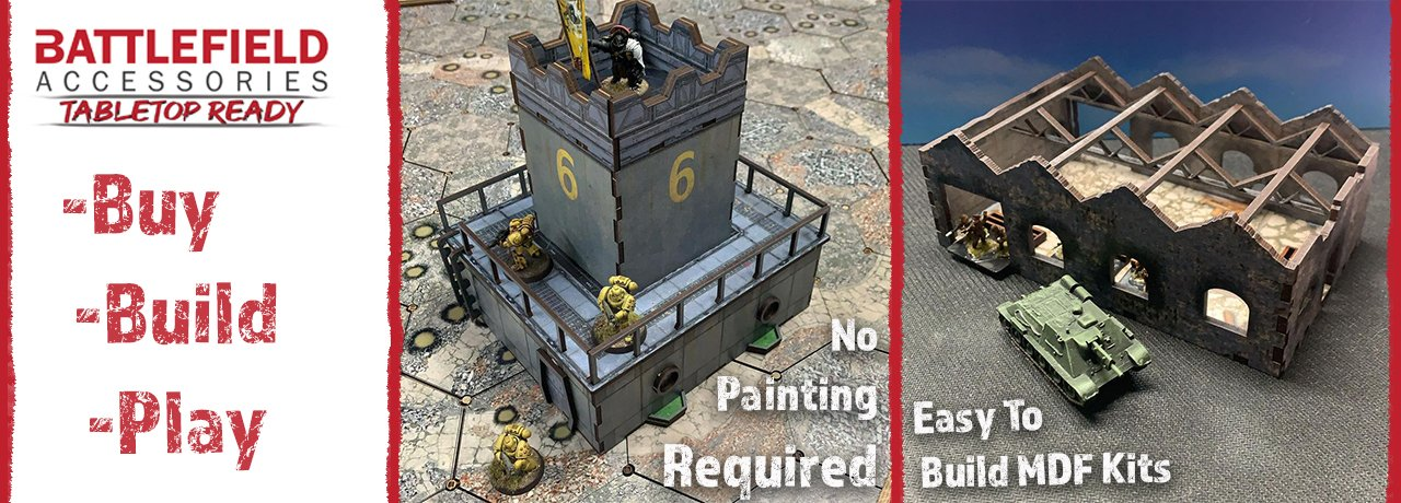 Buildings and Terrain - Battlefield Accessories