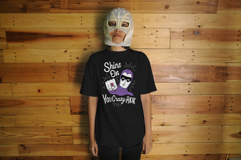 Shine On You Crazy Akik Black Tee