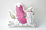 Awesome Unicorn Pillow