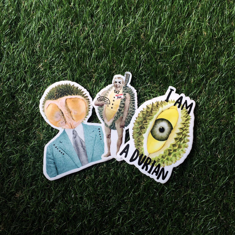 Epic Durian Stickers