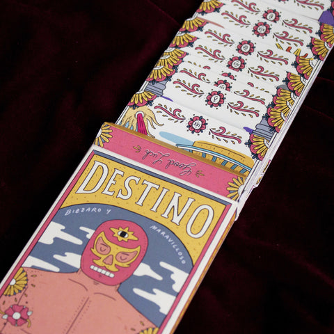 ¡Destinos! Legends of Lucha Libre Tarot Deck