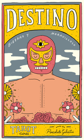 ¡Destinos! Legends of Lucha Libre Tarot Wall Prints