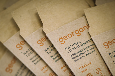 Georganics plastic free packaging