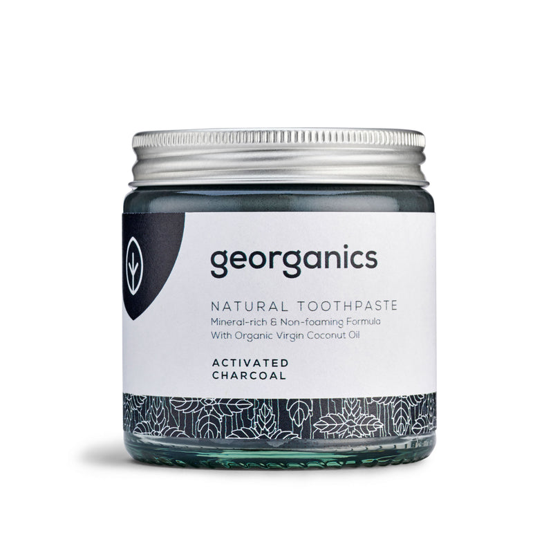 Natural Toothpaste - Activated Charcoal - Georganics Oral Care