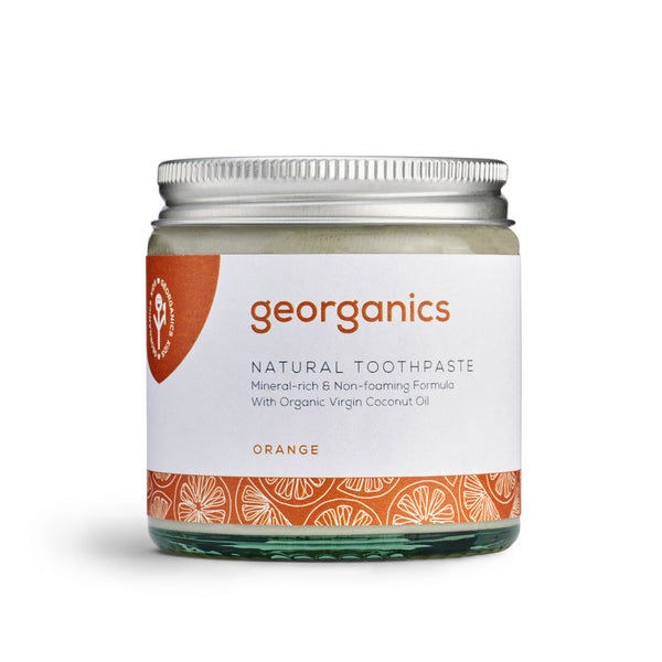 Natural Toothpaste - Orange - Georganics Oral Care