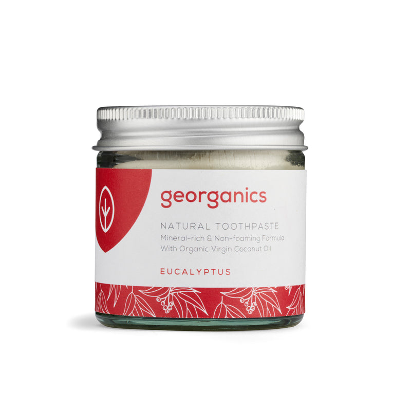 Natural Toothpaste - Eucalyptus - Georganics Oral Care
