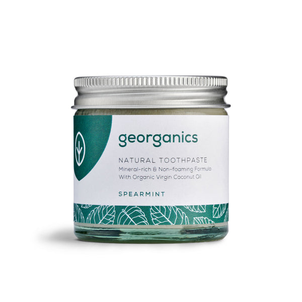 Natural Toothpaste - Spearmint - Georganics Oral Care