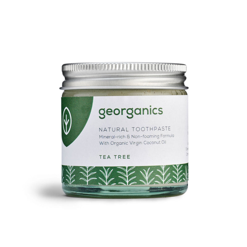 Natural Toothpaste - Tea Tree - Georganics Oral Care