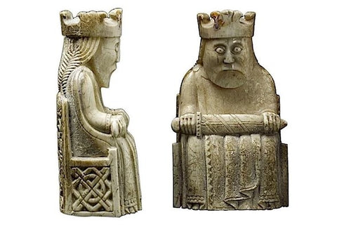 isle of lewis chess pieces king