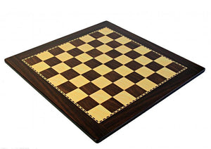 17 Inch Walnut Design ECO Chess Board -  CHESSMAZE STORE UK