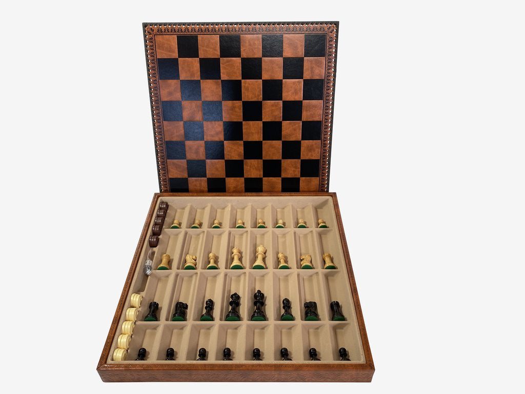 Decorative Italian Storage Chess Set -  CHESSMAZE STORE UK