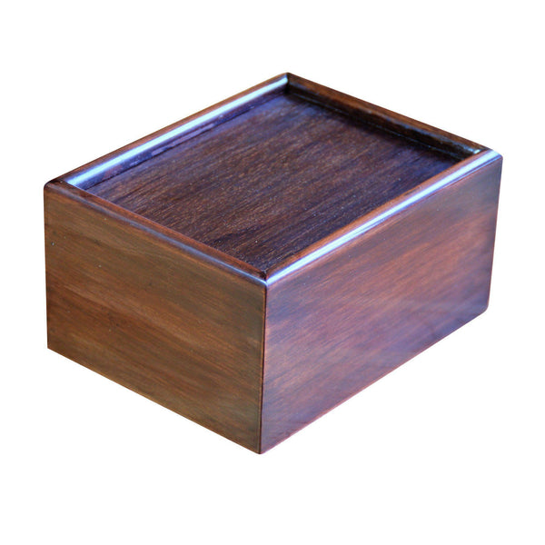Slide Lid Solid Wood Chess Box -  CHESSMAZE STORE UK