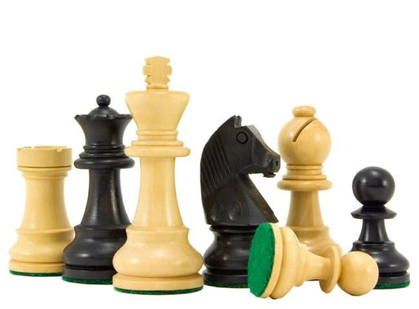 RC Classic Ebonised & Boxwood Chess Pieces -  CHESSMAZE STORE UK