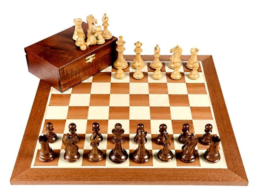 Fierce Knight Shisham Mahogany Chess Set -  CHESSMAZE STORE UK