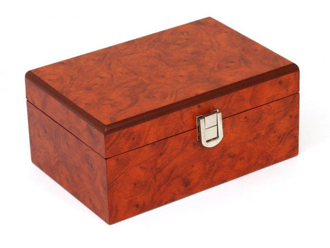 Burl Rootwood Chess Box -  CHESSMAZE STORE UK