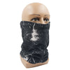 Bandana mask Black Paint