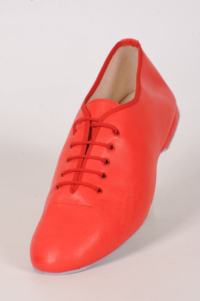 Jazz Shoes Pelle Rosso (J03)