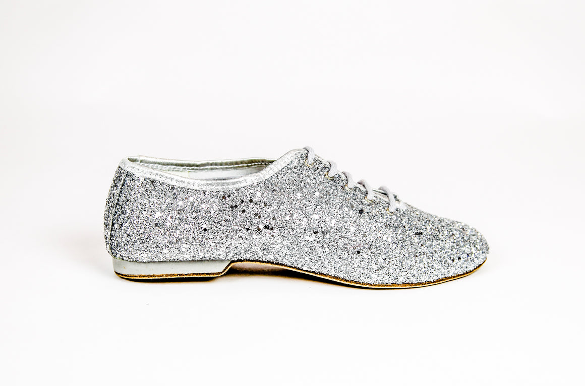 Jazz Shoes Crystal Argento (J03)