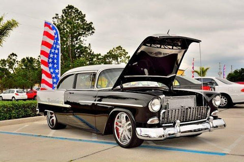 A 1955 Bel Air,  Worth Several Looks