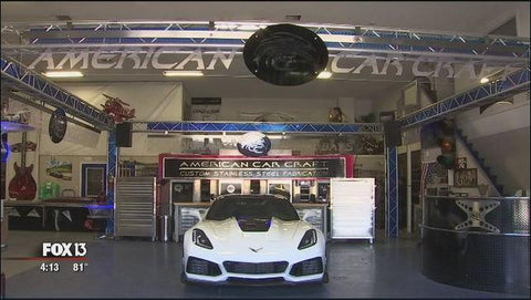 American Car Craft on Fox 13 Tampa Bay