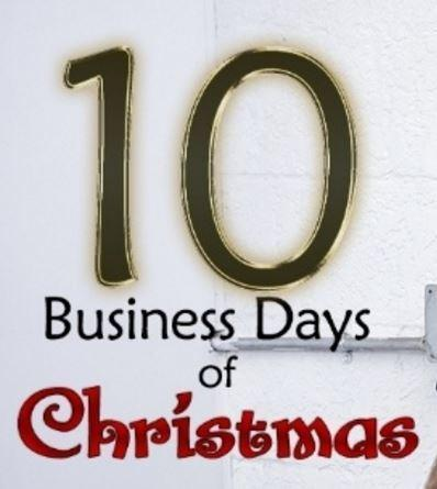 Custom Car Accessories and the 10 Business Days of Christmas