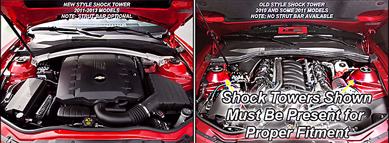 2011 2015 Camaro Inner Fender Covers Perforated American Car Craft Fuse Box Click Here To See Shock Tower Options