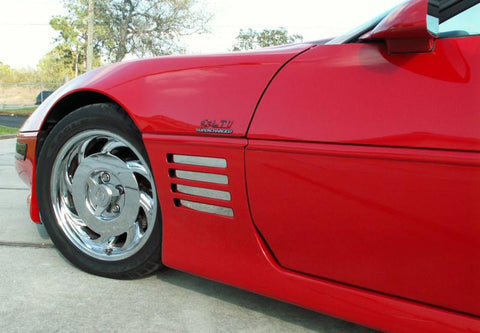 1991-1994 C4 - Corvette Vent Spears Polished 8Pc
