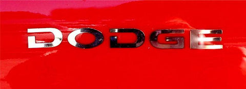 1992-2002 Dodge Viper - Rear Bumper Letters 'DODGE' & 'RT 10' | Polished Stainless Steel American Car Craft Viper