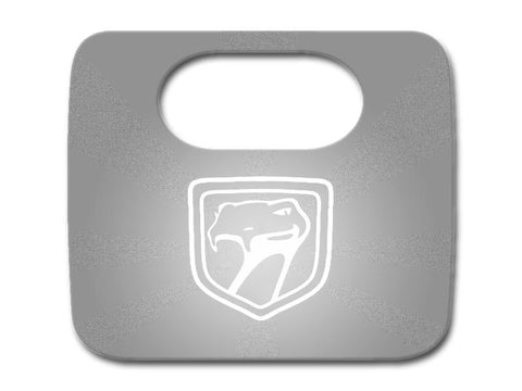 1996-2002 Dodge Viper - Glove Box Cover with Laser Etched Viper Head Logo Polished American Car Craft