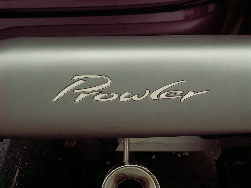 1997-2002 Plymouth Prowler - Deluxe Rear Bumper PLYMOUTH PROWLER Lettering | Stainless Steel, Choose Kit American Car Craft Prowler 822016 Plymouth