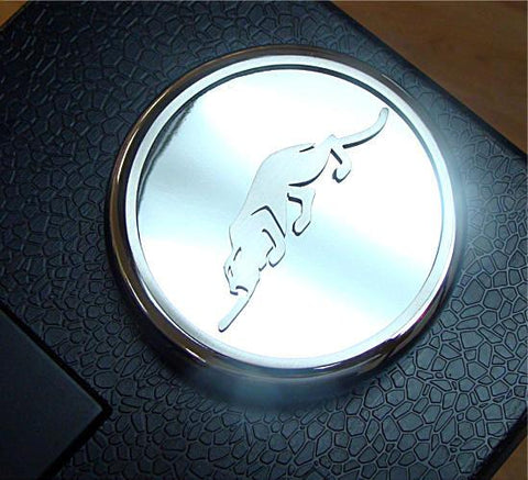 1997-2002 Prowler - Chrome Radiator Fluid Cap Cover with Kat Logo 1Pc