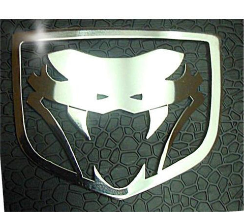 2003-2010 Dodge Viper -  VIPER Fangs Emblem 1Pc | Polished Stainless Steel