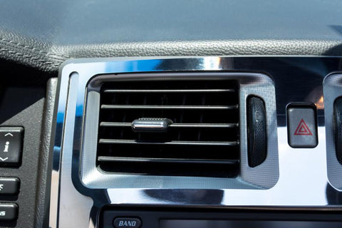 2004-2009 Cadillac XLR - Upper Center Console Trim Plate | Brushed Stainless w/Polished Trim