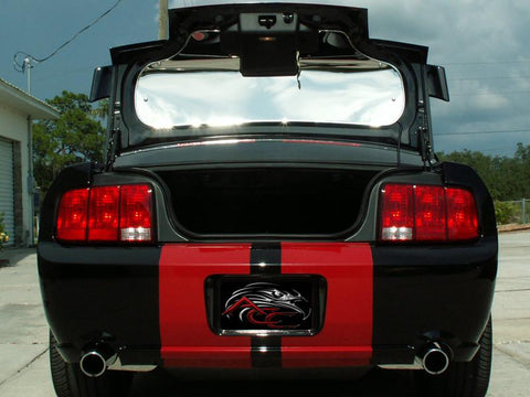 2005-2009 Mustang - Trunk Panel  | Polished Stainless Steel