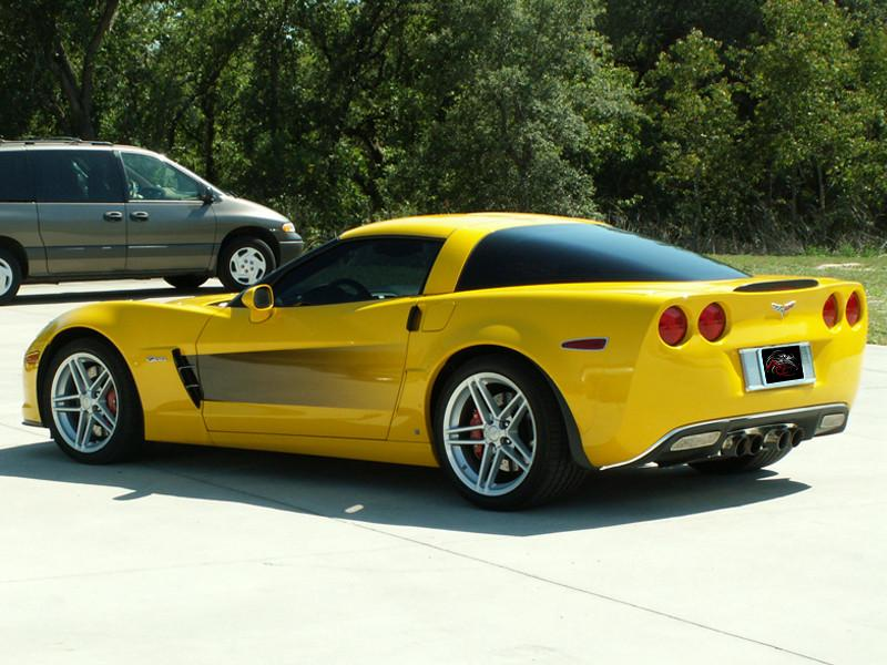 2005-2013 Corvette C6 - Side Graphic Sport Fade American Car Craft