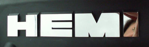2005-2015 5.7 HEMI Letters Polished for Chrysler 300 / Dodge Charger / Magnum American Car Craft