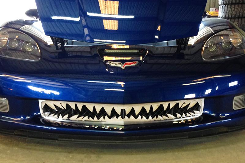 2006-2013 Z06 Corvette - Shark Tooth Grille American Car Craft
