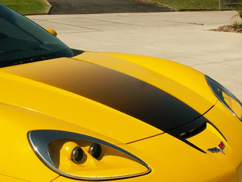 2006-2013 Z06+ZR1+GS Corvette - Hood Graphic Fade Large
